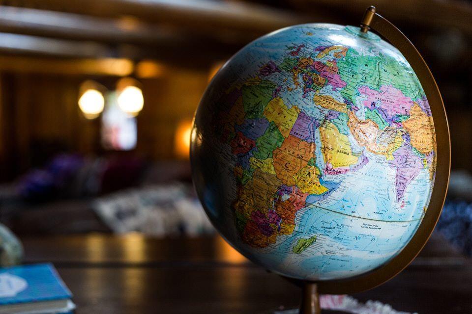shun's article picture - globe