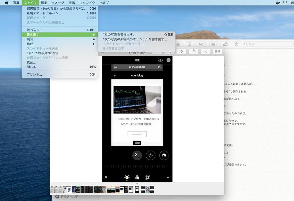 shun's article picture - mac 1