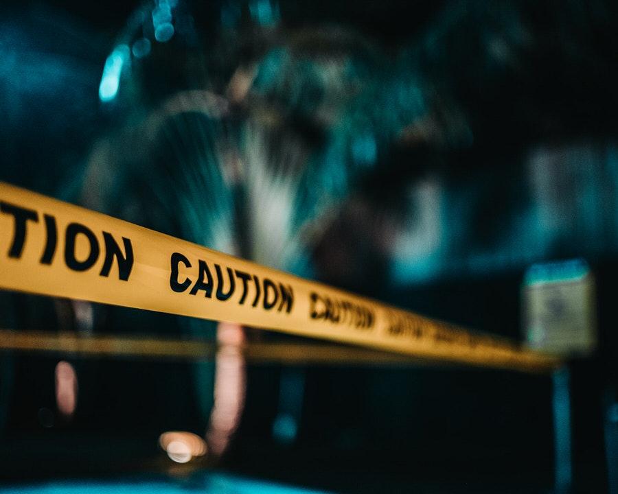 shun's article picture - caution tape