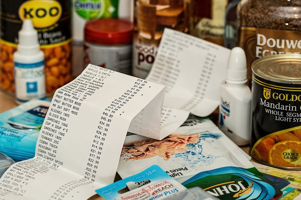 shun's article picture - shopping receipt