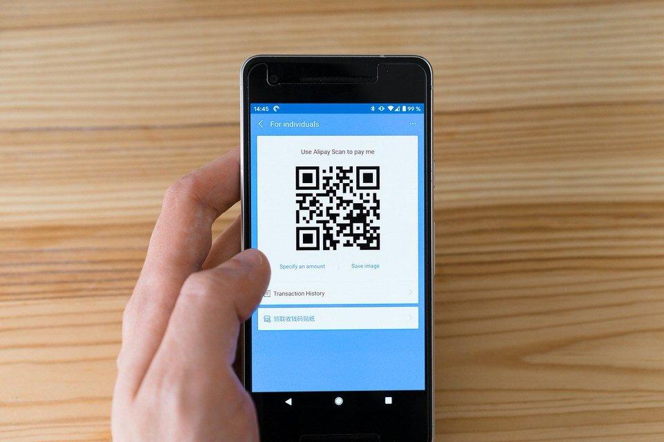 shun's article picture - cashless QR-code