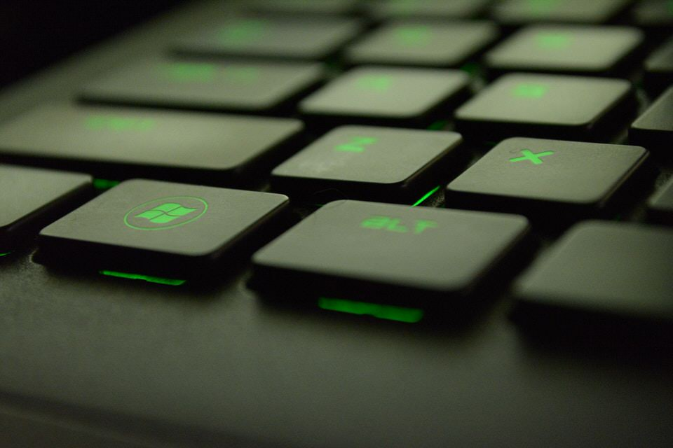 shun's article picture - keyboard up
