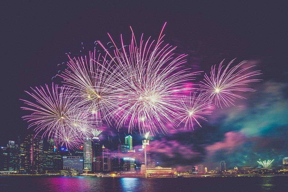 shun's article picture - fireworks