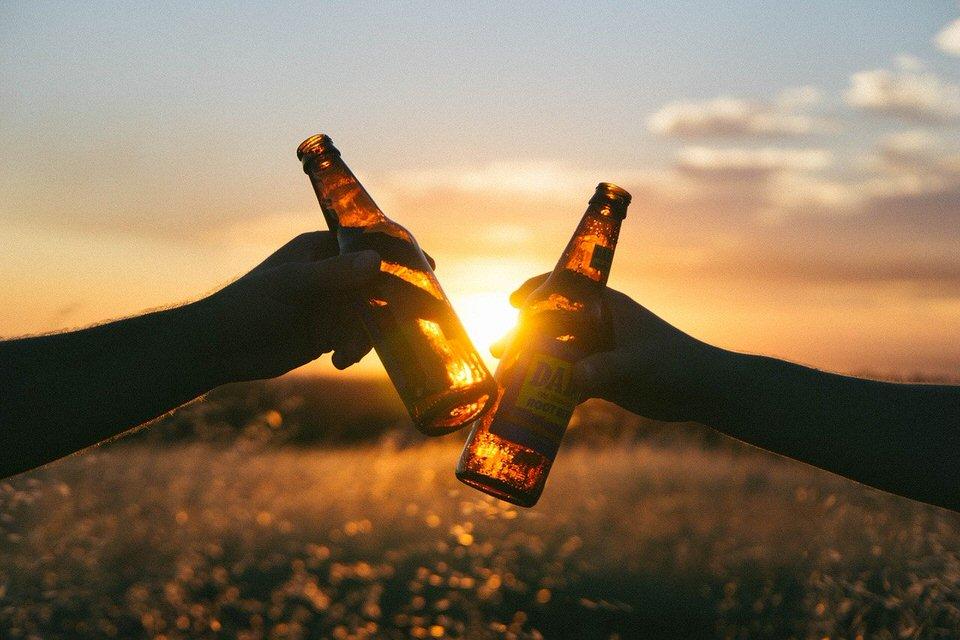 shun's article picture - sun set bottle
