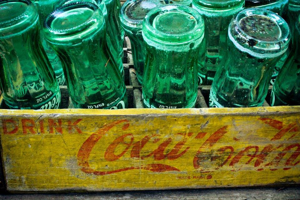 shun's article picture - coca cola more bin