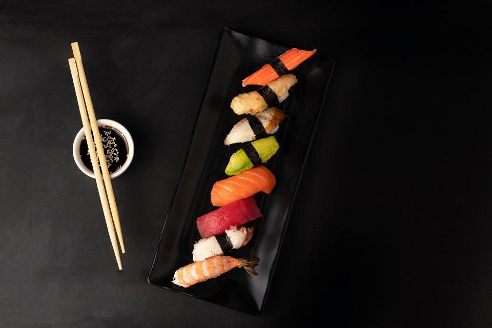 shun's article picture - delicious sushi