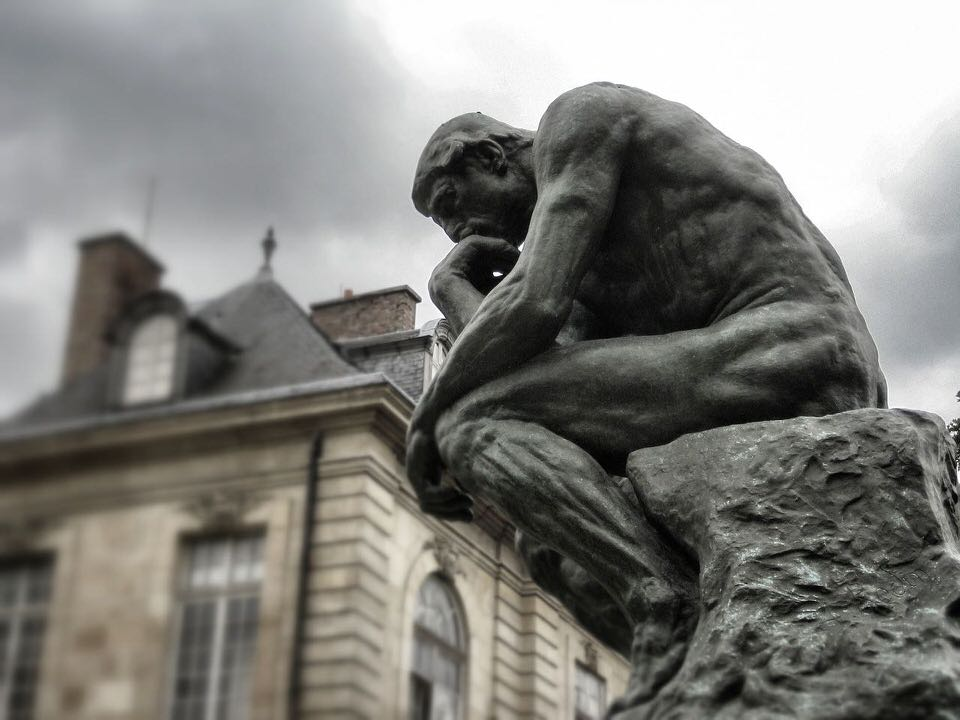 shun's article picture - the thinker
