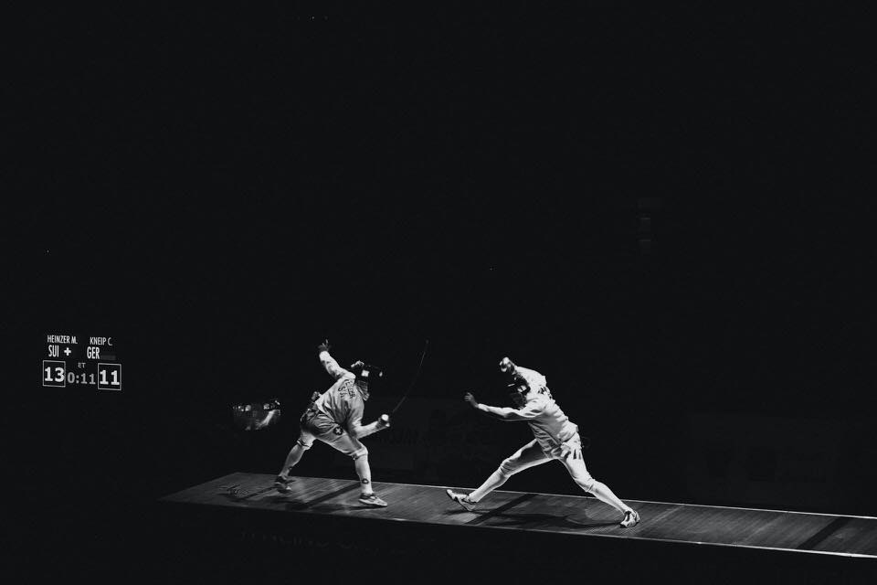 shun's article picture - olympics fencing