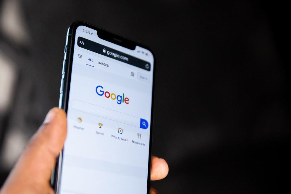 shun's article picture - google search web in smart phone