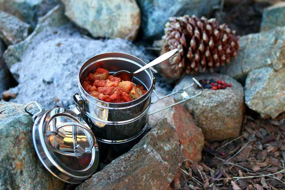 shun's article picture - camping dinner